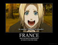 France Stalks Anime - random screencap