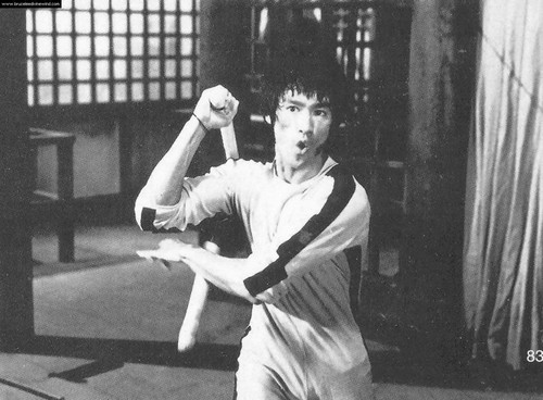 Bruce Lee wallpaper probably with a ballplayer and a wicket entitled Game of Death