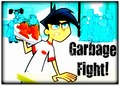 Garbage Fight! - save-danny-phantom fan art