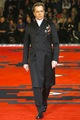 Gary Oldman walks the runway for Prada