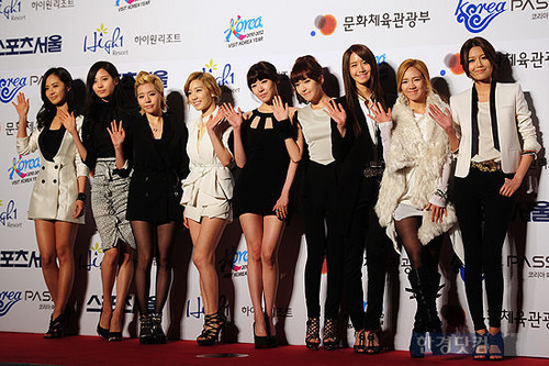 Girls' Generation 21stSeoul Music Awards Red Carpet