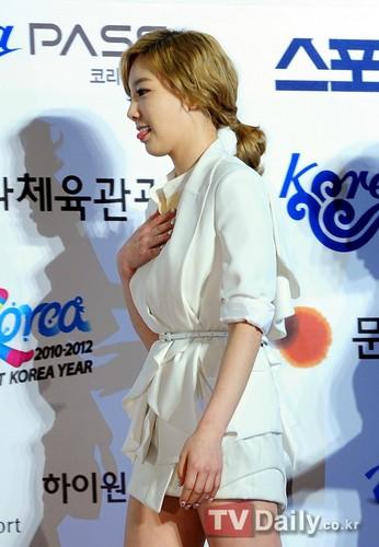 Girls' Generation 21stSeoul 音楽 Awards Red Carpet