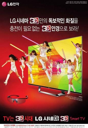 Girls' Generation LG 3D TV