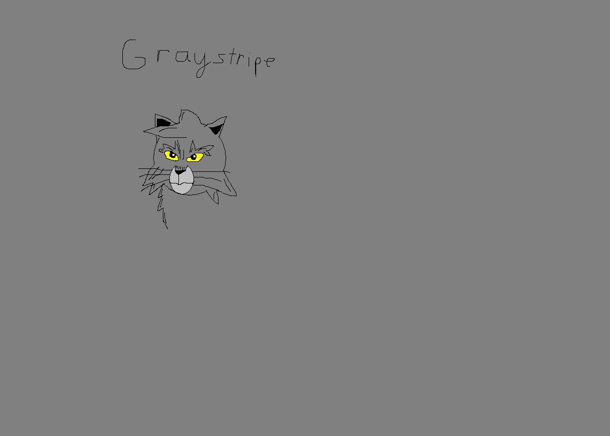 Graysripe in Manga drawing