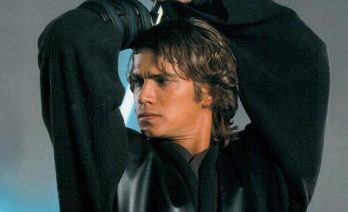 Hayden Anakin pose closeup