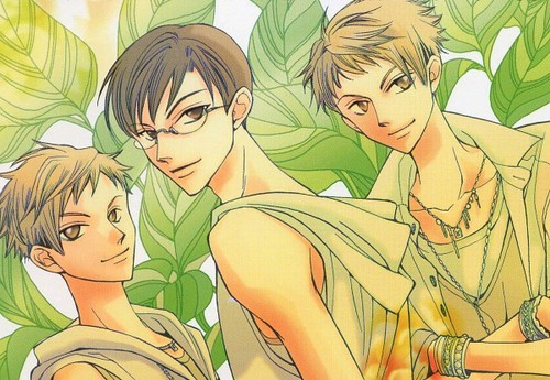 Hikaru, Kaoru and Kyoya