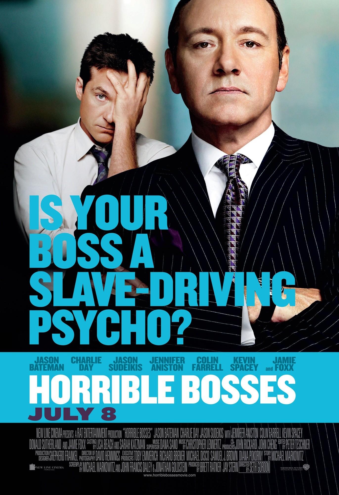 Horrible Bosses Poster