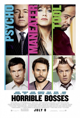 Jason Bateman wallpaper probably containing a portrait titled Horrible Bosses Poster