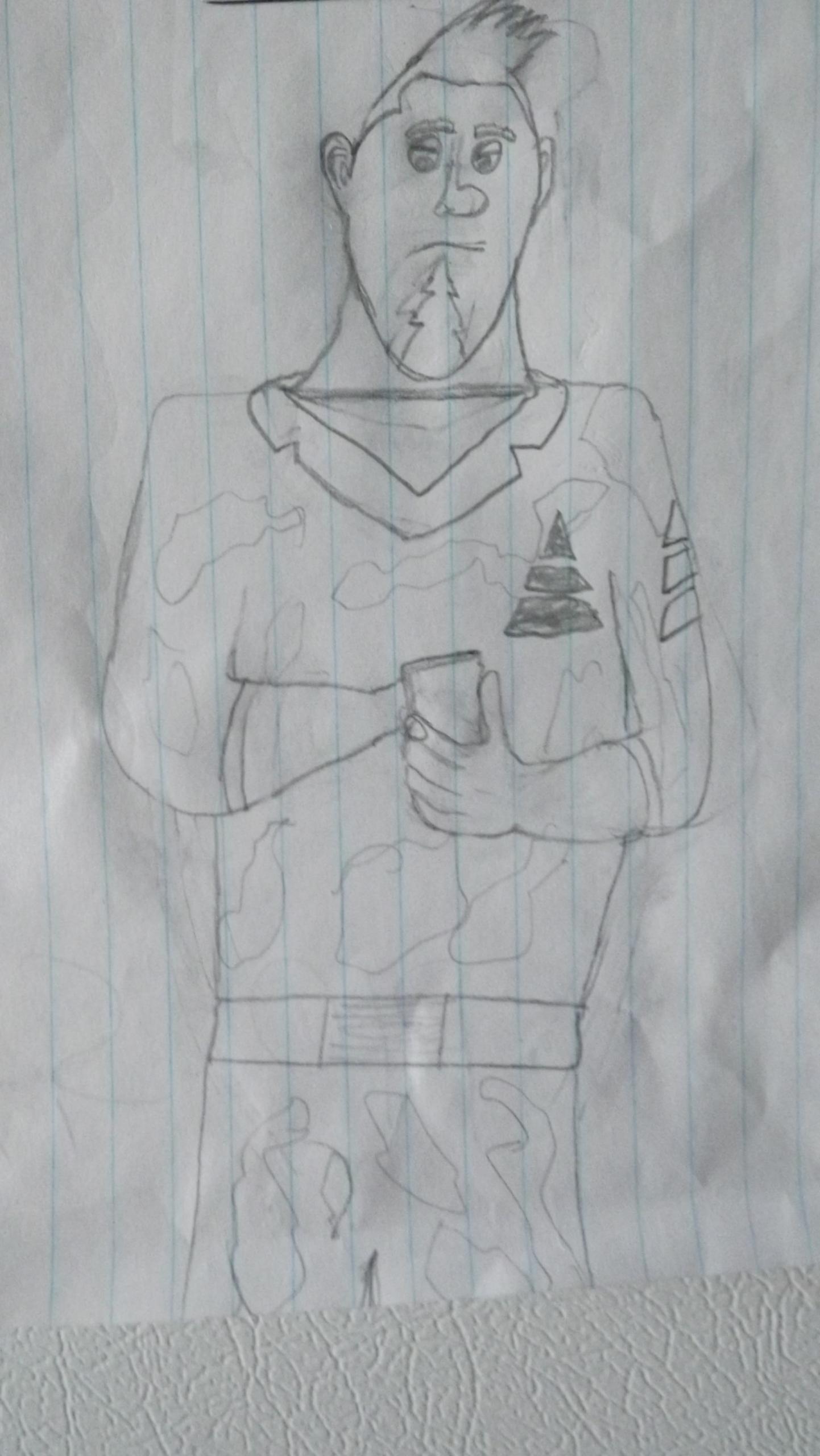 I drew steve XD , Arthur Christmas Fan Art (28479028) , Fanpop