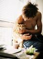 Ian and his cat  - ian-somerhalder fan art