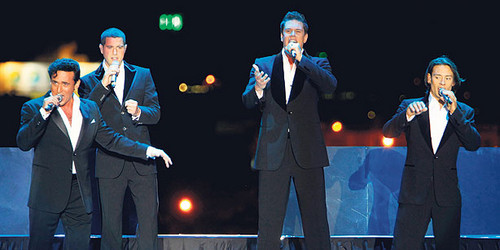 Il Divo, the magnificent four of pop opera