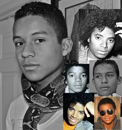 Jaafar Jackson got his uncle Michael Jackson's lips
