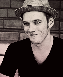 Jake Abel kertas dinding probably with a boater and a fedora entitled Jake