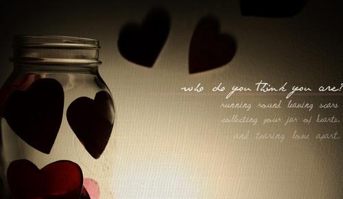 Jar Of corazón