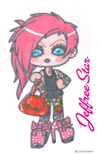 Jeffree bintang fan Art ♥