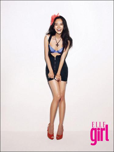 Ji hyo Elle girl