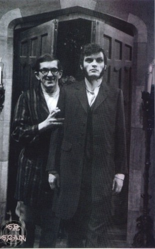 Jonathan Frid and David Seby