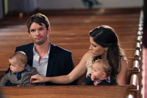 Julian, Brooke, and the twins