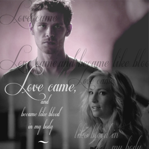 K♥C - klaus-and-caroline Fan Art