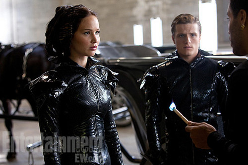 Katniss and peeta (almost) on ngọn lửa, chữa cháy