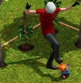 Kicking Garden Gnomes - the-sims-3 screencap