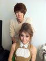 Krystal & Se Hun @ W Korea Photoshoot
