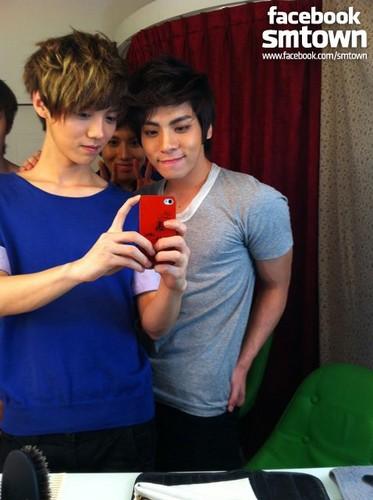 LU HAN & TAE MIN & JONG HYUN