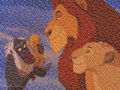 Lion King mosaic