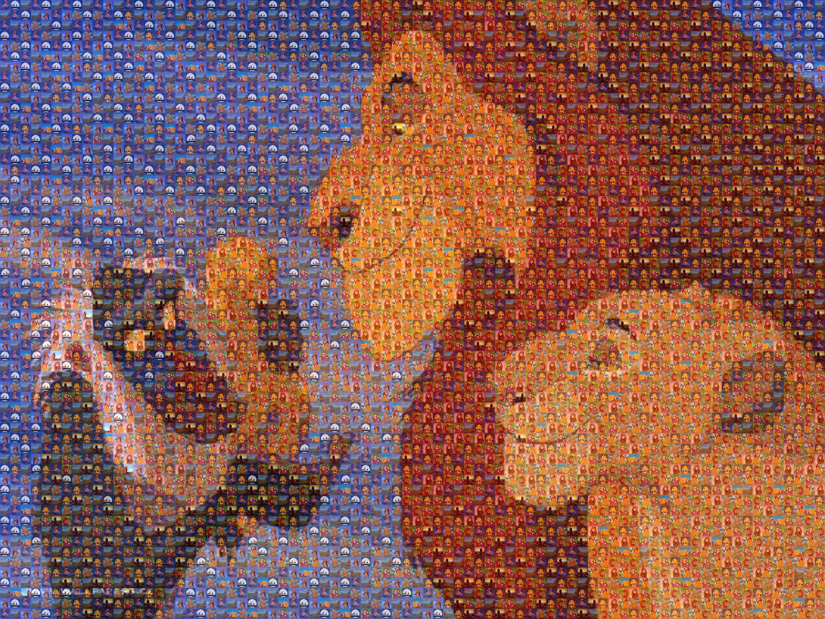 Lion King mosaico