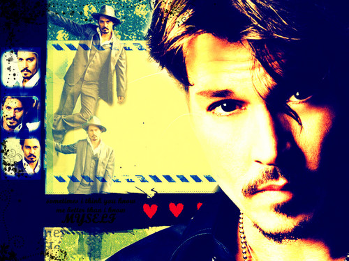Love you♥ - johnny-depp Wallpaper
