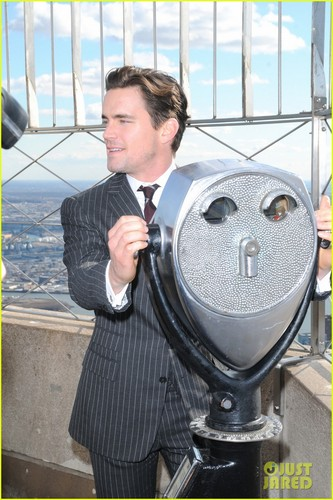 Matt Bomer wallpaper entitled Matt Bomer: Channing Tatum was the Best Male Dancer!