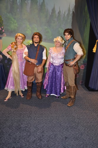 Meet and Greet with Rapunzel & Flynn Rider