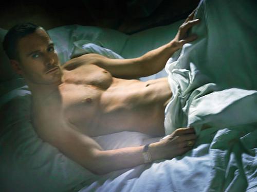 Michael Fassbender Shirtless For W Magazine