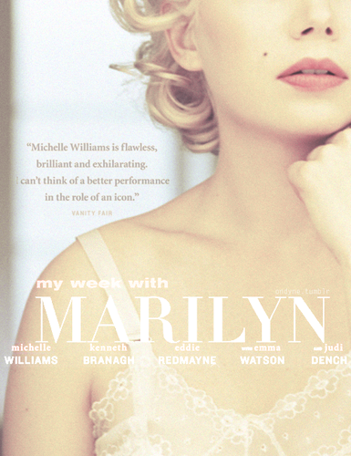 Michelle Williams - Poster Remake: My Week With Marilyn
