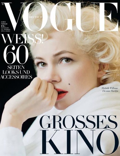"Michelle Williams - ""VOGUE""/Germany - (January 2012)"