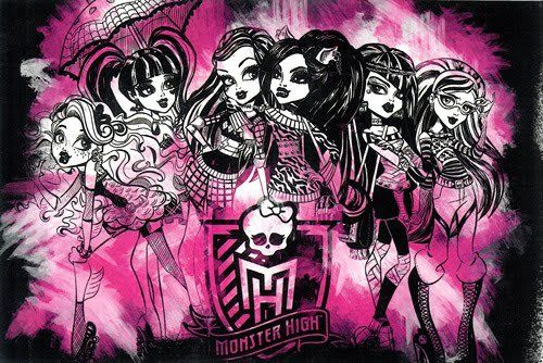 Monster High wallpaper containing anime called Monster High Ghouls