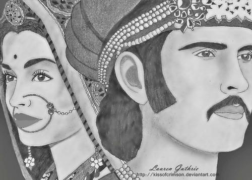 My Artwork- Jodhaa Akbar