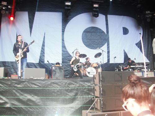 My Chemical Romance Big 日 out Auckland