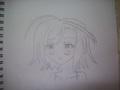 "My drawing of Haruka Shigure from ""A Dark Rabbit Has Seven Lives"" - anime fan art"