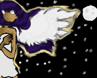 My wings carry me through
