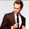 dacastinson and _naiza photo containing a business suit, a suit, and a judge advocate entitled NPH icons I made :)