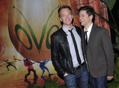 Neil and David @ Opening Night Of Cirque du Soleil's 'OVO'