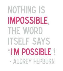 Nothing is..