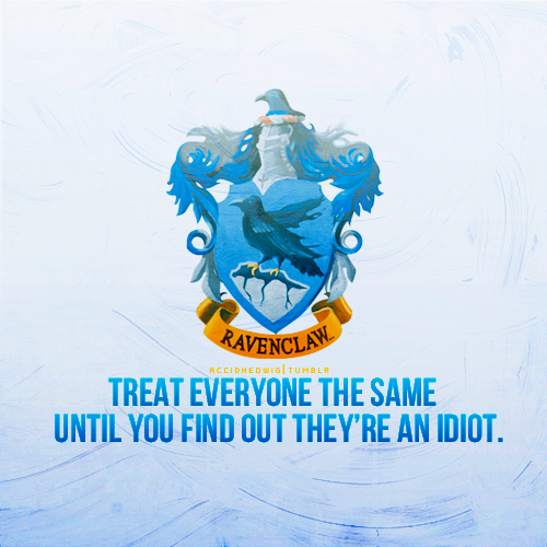 Oh, Ravenclaw!