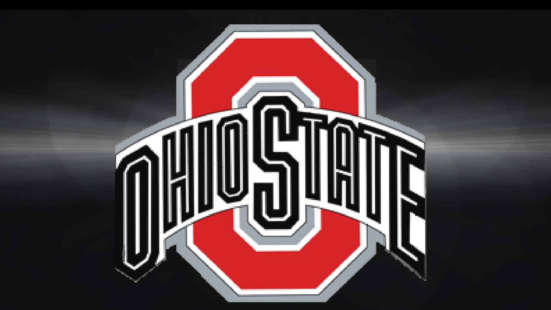 Ohio State Buckeyes Images RED BLOCK O ON GRAY BLACK HD Wallpaper And Background Photos