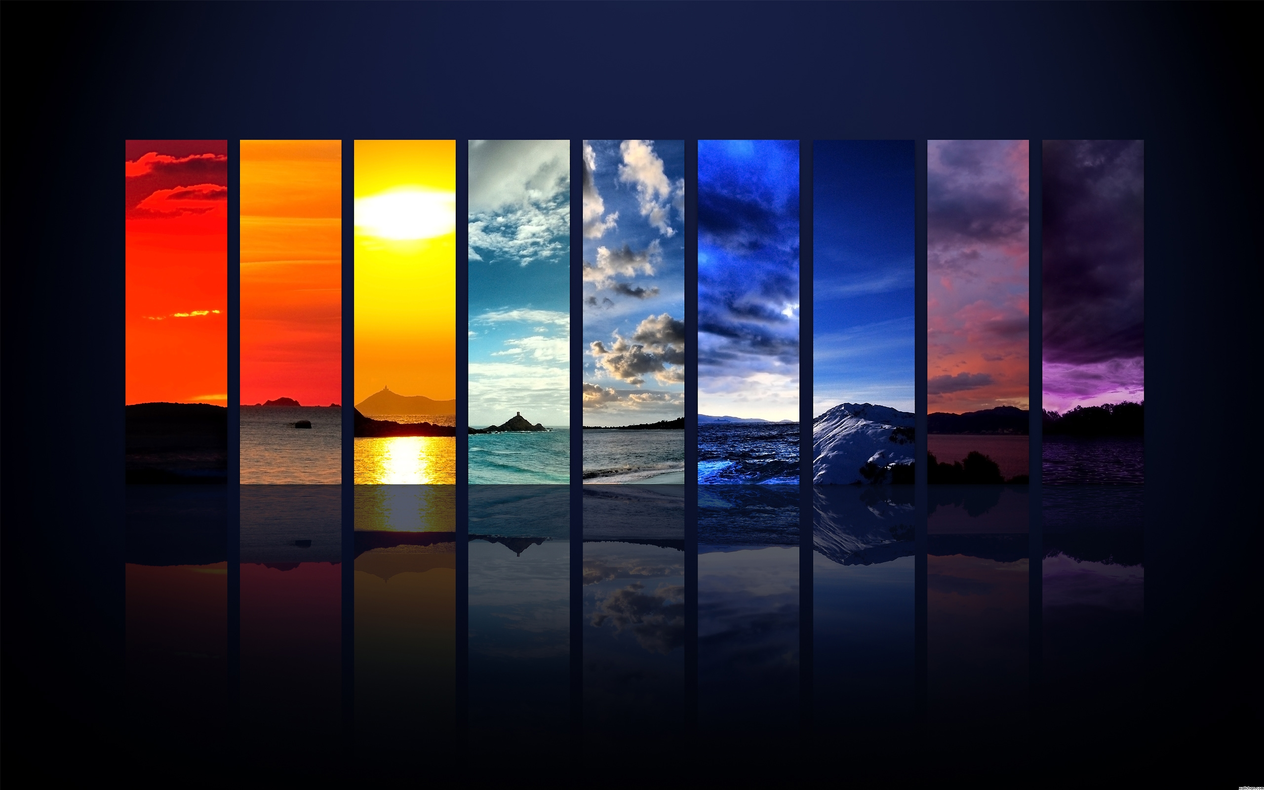 Wallpapers Images Rainbow Colors Wallpaper HD And Background Photos