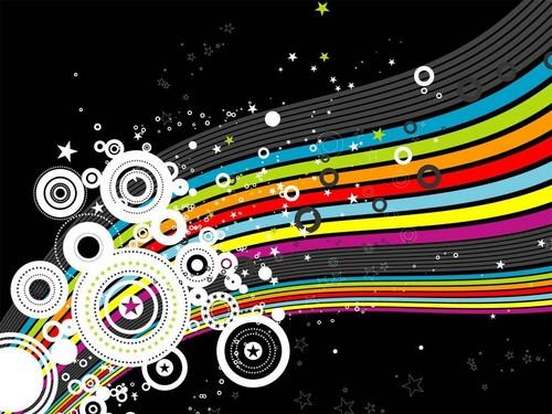 arco iris colores fondo de pantalla
