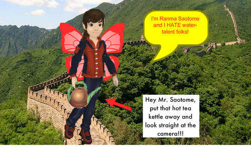 Ranma character: Male Ranma (Pixie Hollow version)