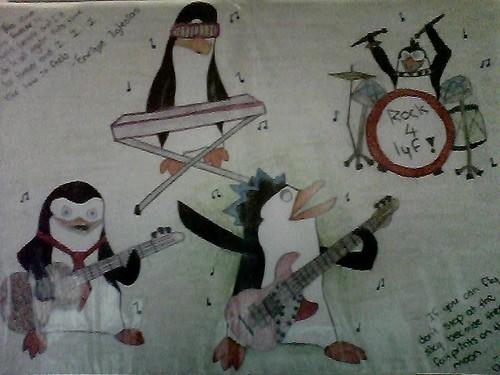 Rock Penguin!!! :D