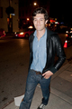 September 12, 2011 - Out &amp; About in Toronto - adam-brody photo